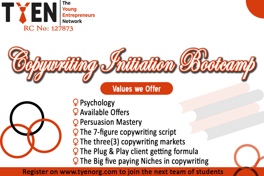 Copywriting Initiation Bootcamp (OT-O)